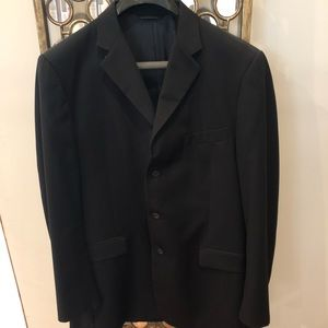 Burberry Black 3-button suit jacket